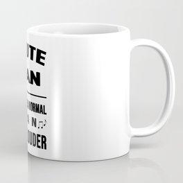 Flute Man Like A Normal Man Just Louder Coffee Mug