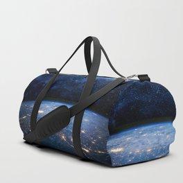 Earth and Galaxy Duffle Bag