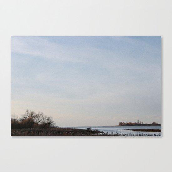 Dyke Canvas Print