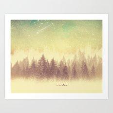 Winter's Journey  Art Print