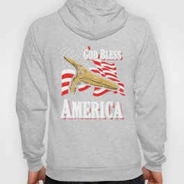 American Pterodactyl (God Bless America) Hoody