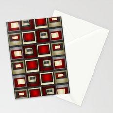 Dark Romance Geometric Stationery Cards