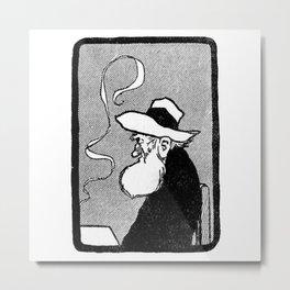 Old man Metal Print