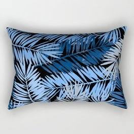 Tropical Palm Leaves III Rectangular Pillow