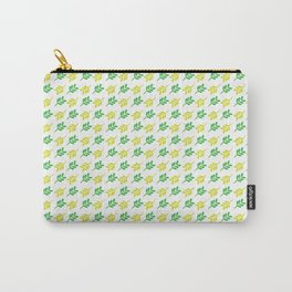 leaf pattern green Carry-All Pouch