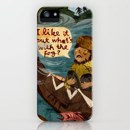 Postcard from Lewis + Clark iPhone Case
