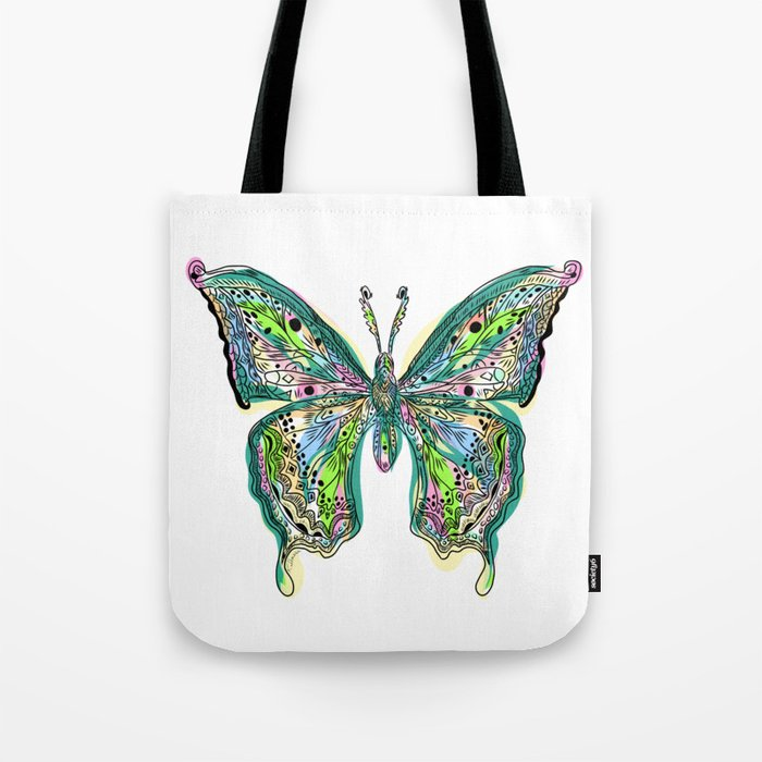 Fly Butterfly Tote Bag