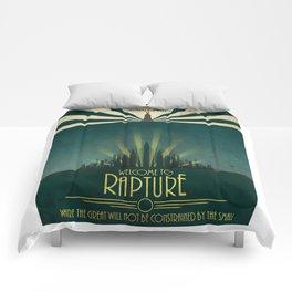 Bioshock - Welcome to Rapture Comforters
