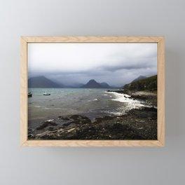 Elgol Scotland - Stormy Seas Framed Mini Art Print
