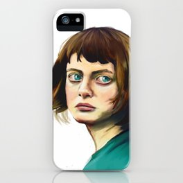 The Missing Girl iPhone Case