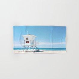 Lifeguard tower Carlsbad 35 Hand & Bath Towel
