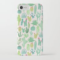 iPhone Cases featuring Cactus by Abby Galloway