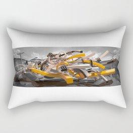 Form Exploration 3 Rectangular Pillow
