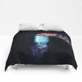 Magic Bottle (Color) Comforters