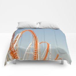 Coney Island Thunderbolt Comforters