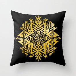GOLD LiGHT OF WiSDOM Throw Pillow