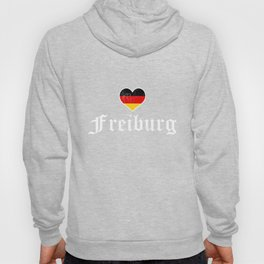 I Love Freiburg Germany Shirt, Funny Cute German Gift Hoody