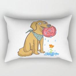 Dog Days Rectangular Pillow