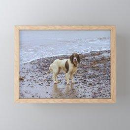 after swimming Framed Mini Art Print