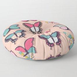 Butterflies collection 03 Floor Pillow