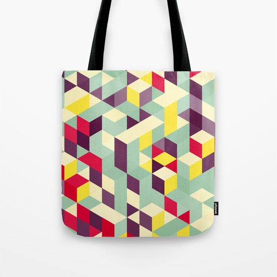 Lines stairs Tote Bag