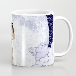 Tiger Moon   Colour Version Coffee Mug