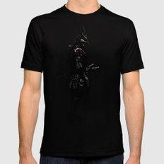 Armored Samurai MEDIUM Mens Fitted Tee Black