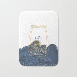 Bottled Sea Bath Mat