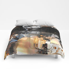 Boat Reflection Comforters
