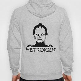 Metropolis white Hoody