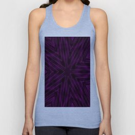 Eggplant Purple Unisex Tank Top