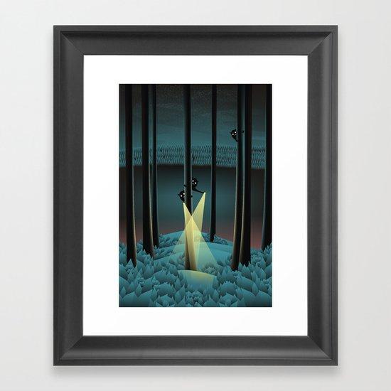 Fuss (Where Are You?) Framed Art Print