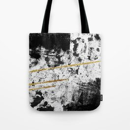 Gilded Grit Light Tote Bag