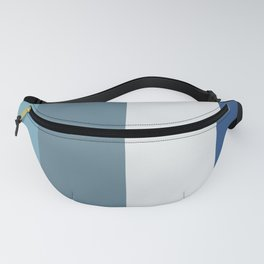 Parable to Behr Blueprint Color of the Year and Accent Colors Vertical Stripes 12 Fanny Pack