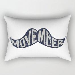 Movember! Rectangular Pillow