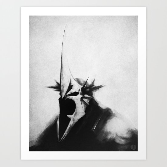 WITCH-KING Art Print
