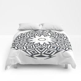 Geometric Marble Comforters