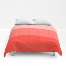 Living Coral Sushi Salmon Abstract Comforters