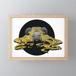 Lady of the Lake Framed Mini Art Print
