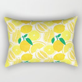 Lemon Harvest Rechteckiges Kissen