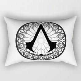 Assassin's Creed Logo Notre Dame Rectangular Pillow
