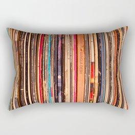 33-1/3 RPM Rectangular Pillow