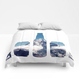 Mountain chug challenge Comforters