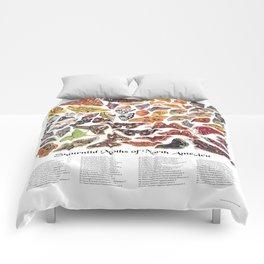 Saturniid Moths of North America Comforters