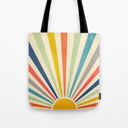 Sun Retro Art III Tote Bag