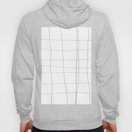 minimalist grid Hoody
