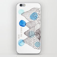 Flying high through the mountains iPhone & iPod Skin
