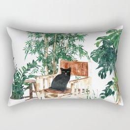 Boho Kitty Rectangular Pillow