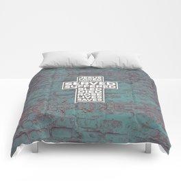 Cross Talk (Cobble) Comforters