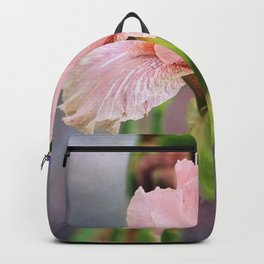 Lovely Pink Iris Backpack